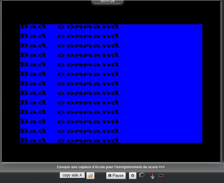 Jeux Amstrad en ligne - Page 5 Bug10