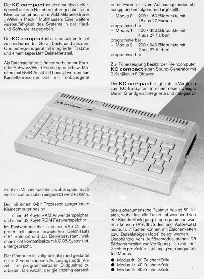 La plus belle pub pour un micro 8bit ? - Page 11 Kc110