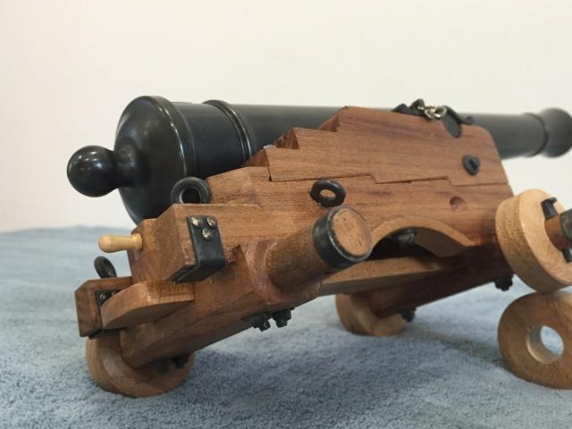 Canon de 8 Long pour Gaillards - 1786  Essieu12