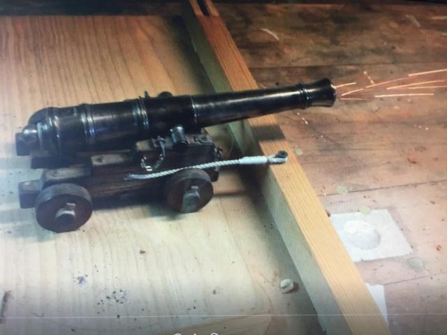 Canon de 8 Long pour Gaillards - 1786  Tir_ca10