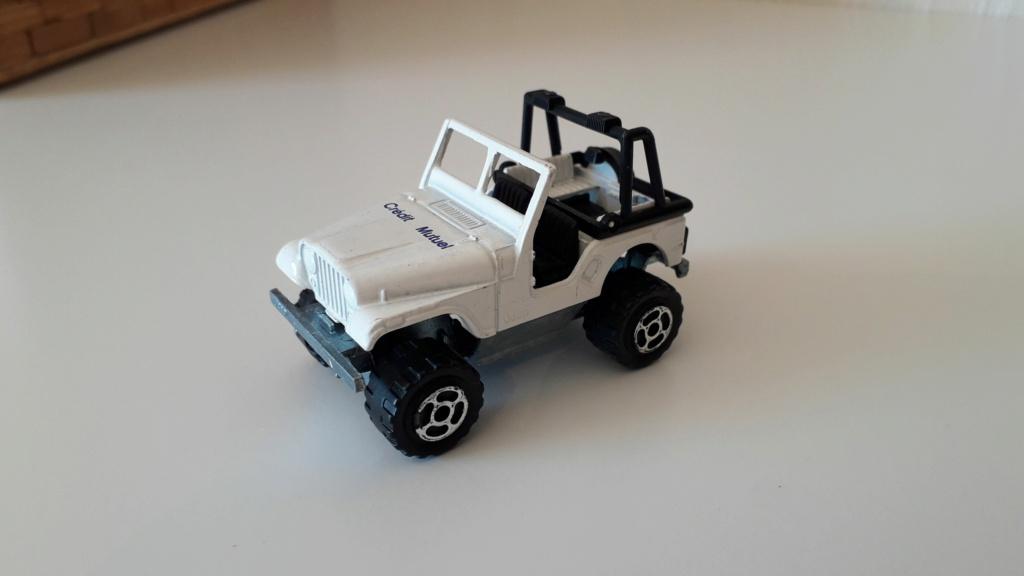 ma petite collection de majorette - Page 3 Jeep_c17