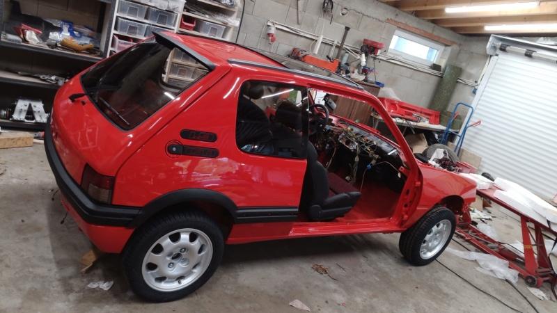 [HarikenRed]  205 GTI 1L9 - Rouge - 1992 (Restauration 100%) - Page 5 Img_2068