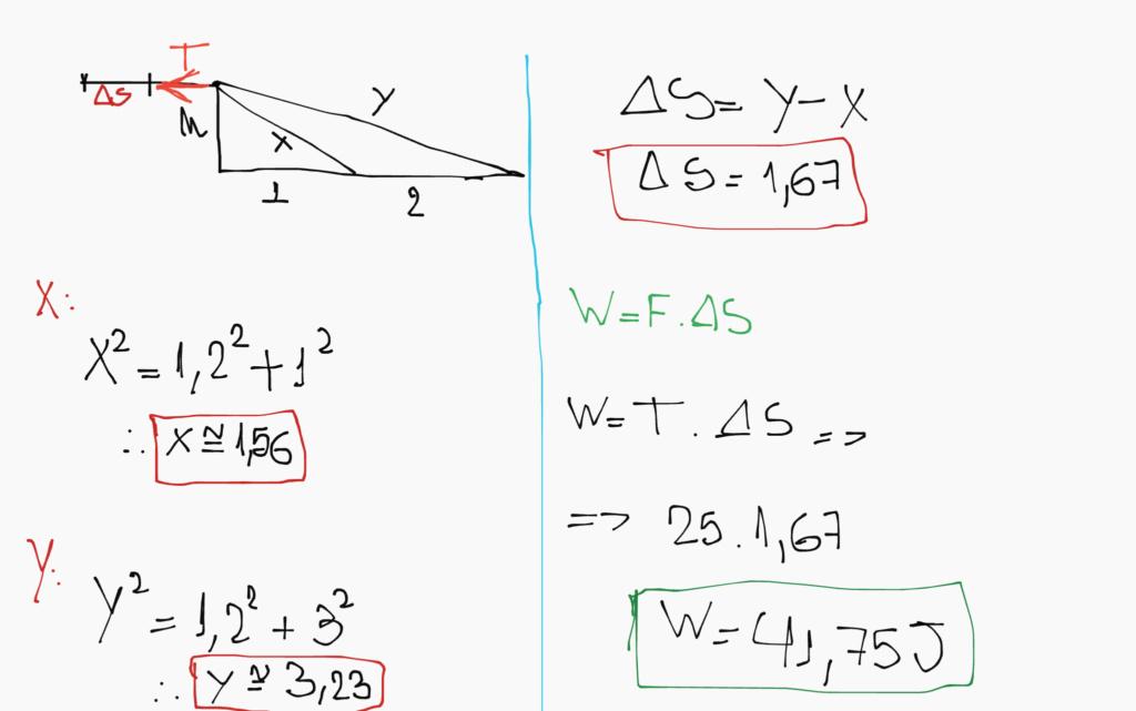 Variação de Energia Cinética - Haliday e Resnick Canvas11