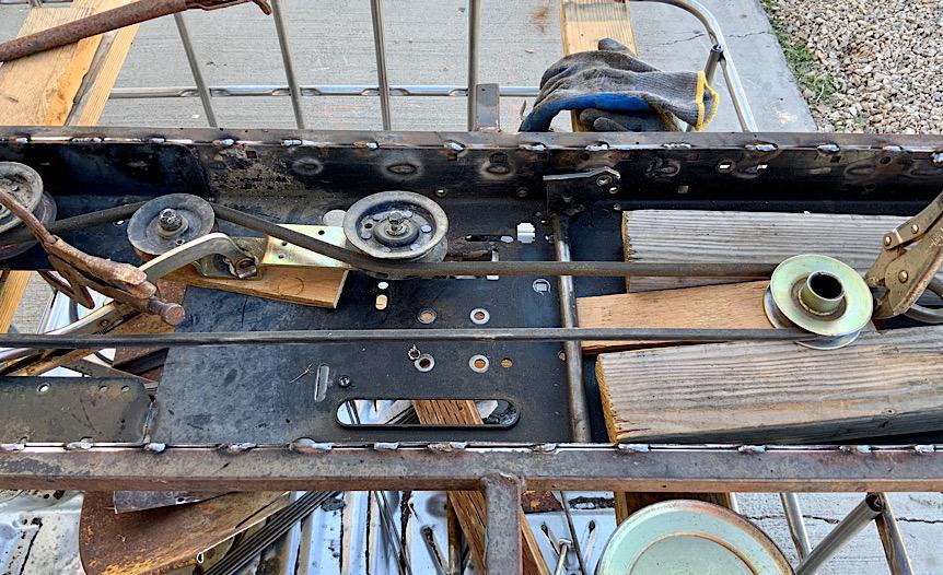 A Rat Rod Wheelbarrow Bucket T Tractor/Kart for my Grandson - Page 5 02b24e10