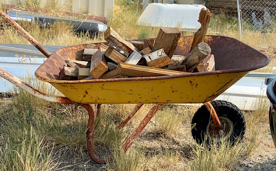 A Rat Rod Wheelbarrow Bucket T Tractor/Kart for my Grandson 07ec2810