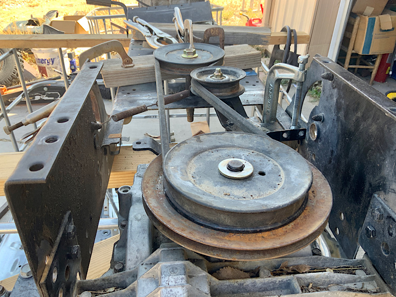 A Rat Rod Wheelbarrow Bucket T Tractor/Kart for my Grandson - Page 3 2033e910