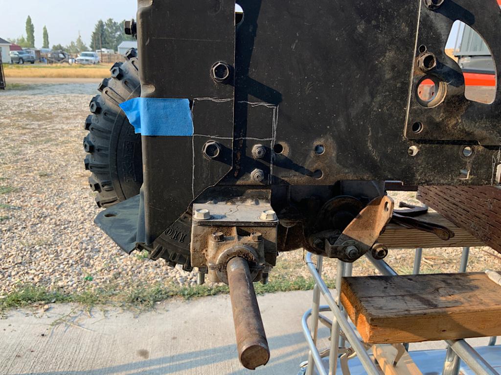 A Rat Rod Wheelbarrow Bucket T Tractor/Kart for my Grandson - Page 3 203e2710