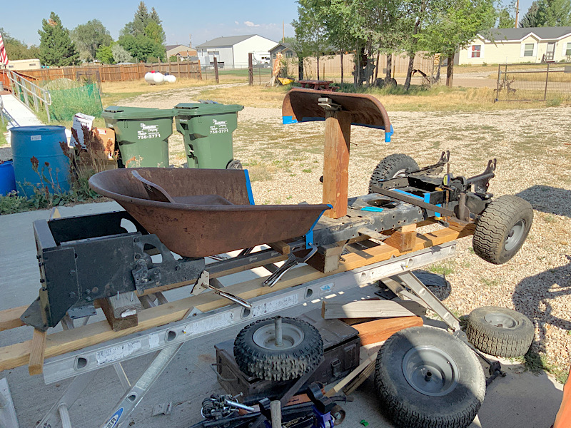 A Rat Rod Wheelbarrow Bucket T Tractor/Kart for my Grandson - Page 2 2048a910