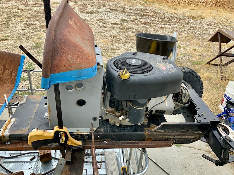 A Rat Rod Wheelbarrow Bucket T Tractor/Kart for my Grandson - Page 4 2d41ba10