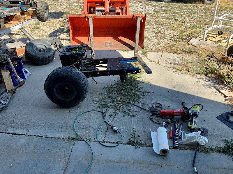 A Rat Rod Wheelbarrow Bucket T Tractor/Kart for my Grandson - Page 2 3f68ff10