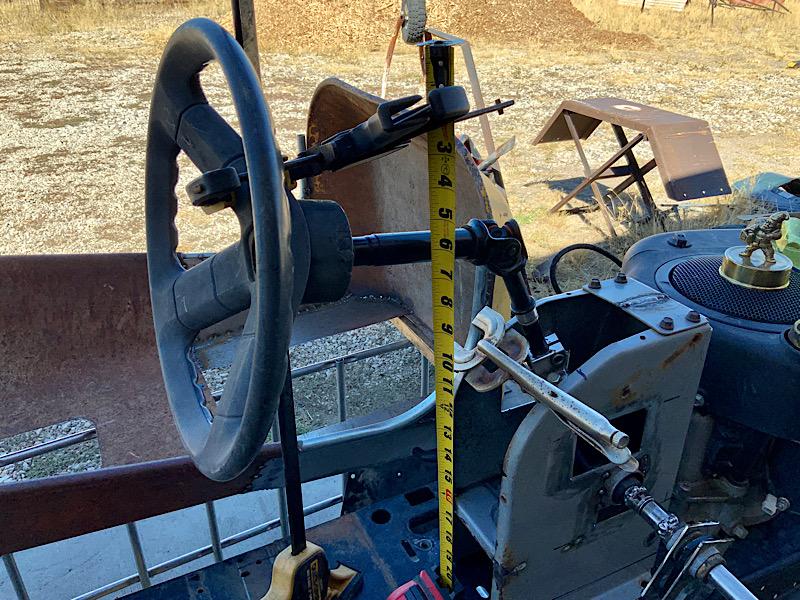 A Rat Rod Wheelbarrow Bucket T Tractor/Kart for my Grandson - Page 4 40659310