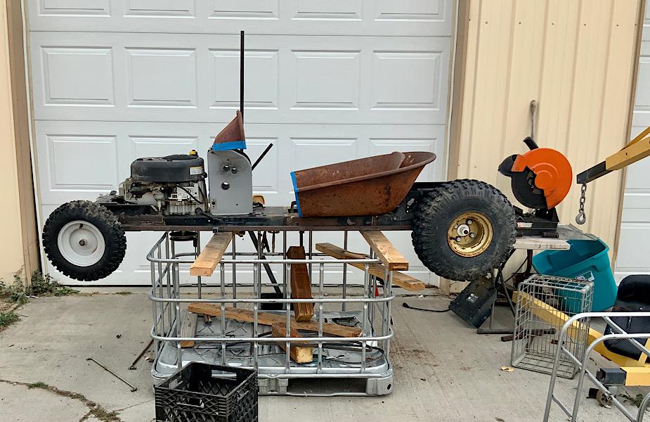 A Rat Rod Wheelbarrow Bucket T Tractor/Kart for my Grandson - Page 4 40ef4f10