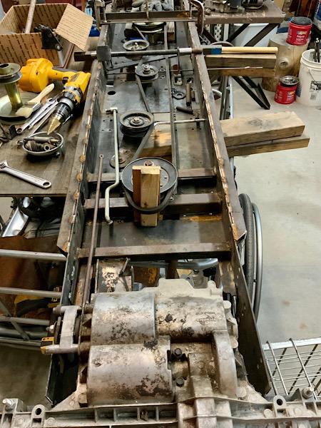 A Rat Rod Wheelbarrow Bucket T Tractor/Kart for my Grandson - Page 5 43234810