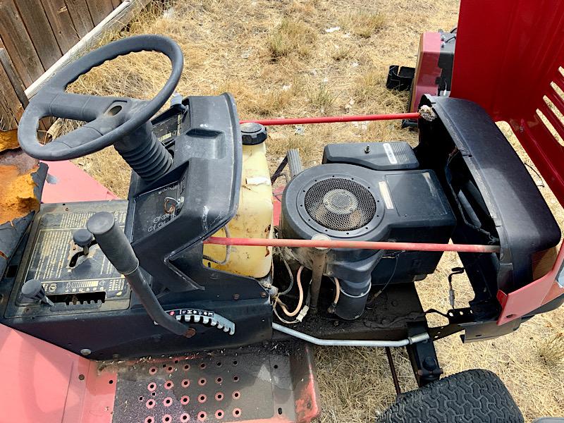 A Rat Rod Wheelbarrow Bucket T Tractor/Kart for my Grandson - Page 2 444de710