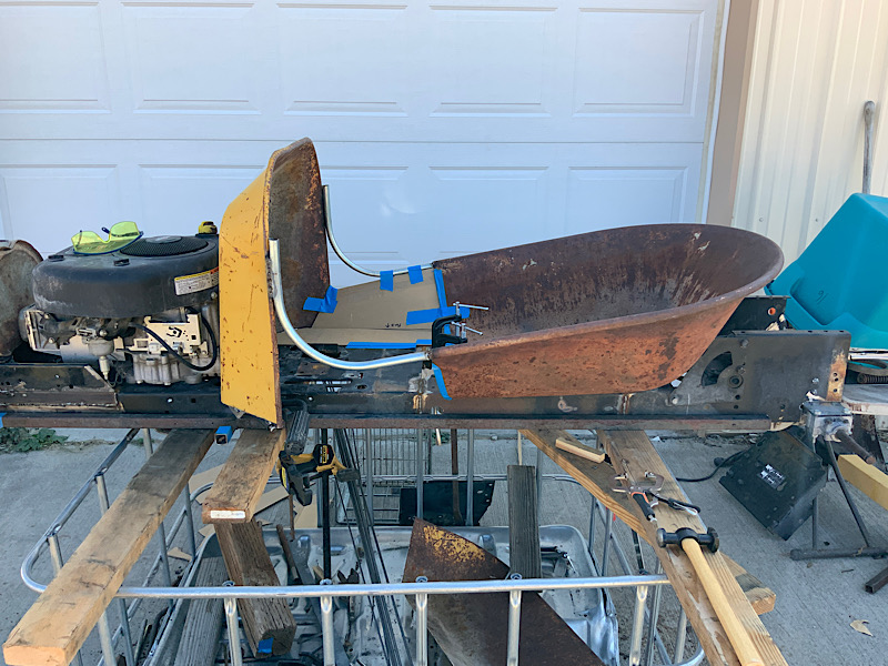 A Rat Rod Wheelbarrow Bucket T Tractor/Kart for my Grandson - Page 4 452a3c10