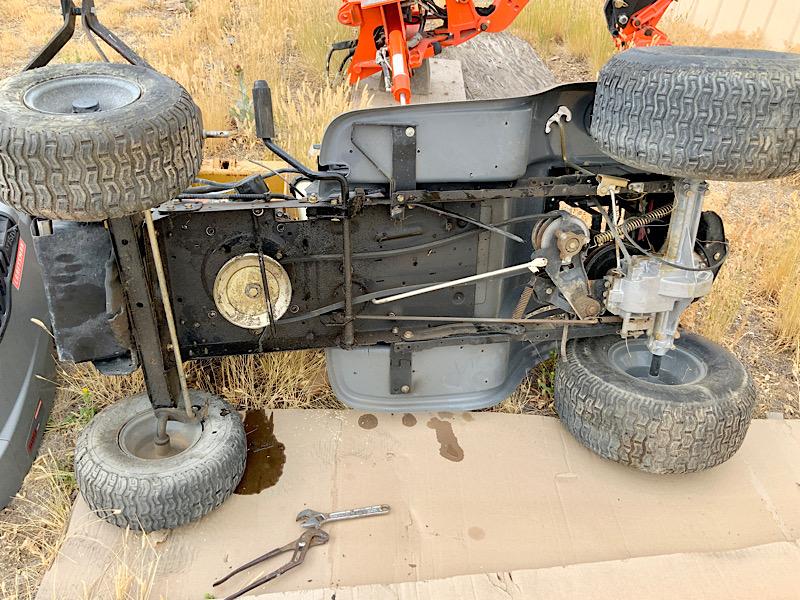 A Rat Rod Wheelbarrow Bucket T Tractor/Kart for my Grandson 47d34310