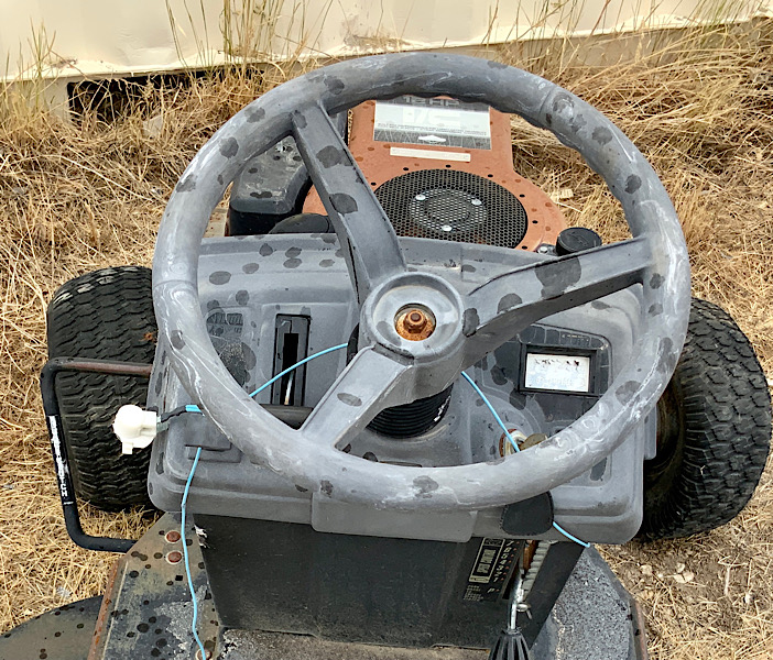 A Rat Rod Wheelbarrow Bucket T Tractor/Kart for my Grandson - Page 2 4e491510