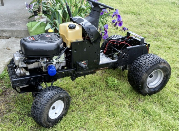 A Rat Rod Wheelbarrow Bucket T Tractor/Kart for my Grandson 4f081010