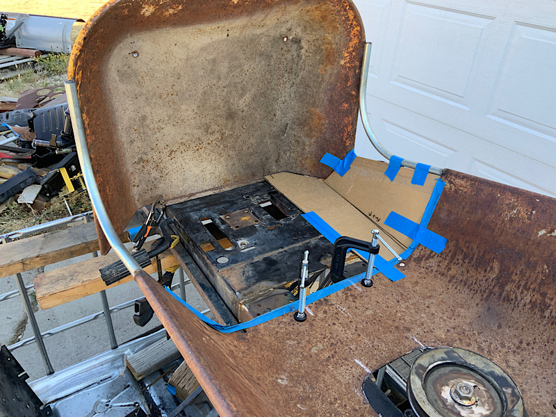 A Rat Rod Wheelbarrow Bucket T Tractor/Kart for my Grandson - Page 4 52478710