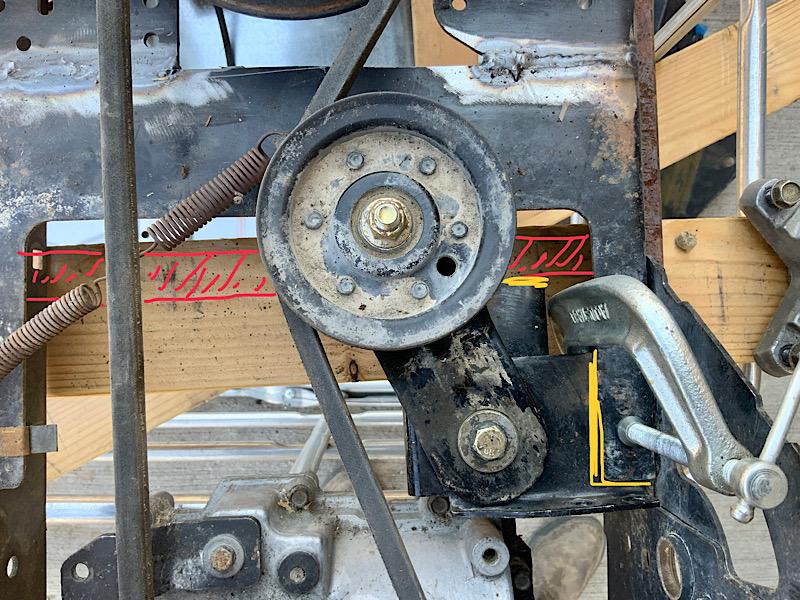 A Rat Rod Wheelbarrow Bucket T Tractor/Kart for my Grandson - Page 3 6d9de910