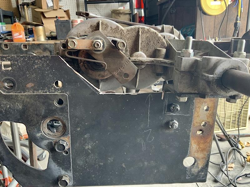 A Rat Rod Wheelbarrow Bucket T Tractor/Kart for my Grandson - Page 5 73776910