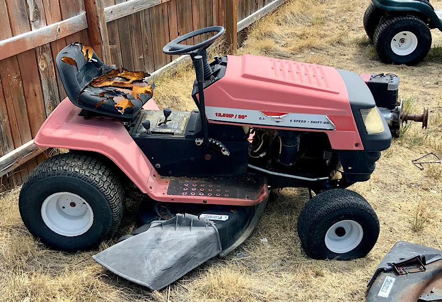 A Rat Rod Wheelbarrow Bucket T Tractor/Kart for my Grandson - Page 2 7f74b210