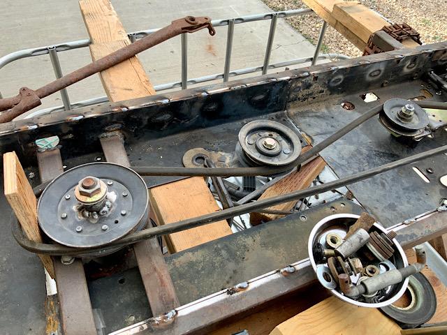 A Rat Rod Wheelbarrow Bucket T Tractor/Kart for my Grandson - Page 5 86e15a10