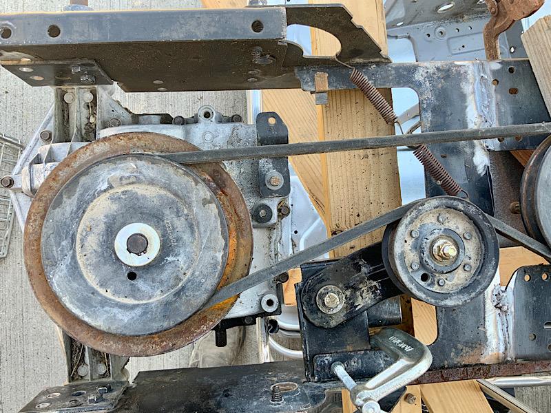 A Rat Rod Wheelbarrow Bucket T Tractor/Kart for my Grandson - Page 3 87c65f10