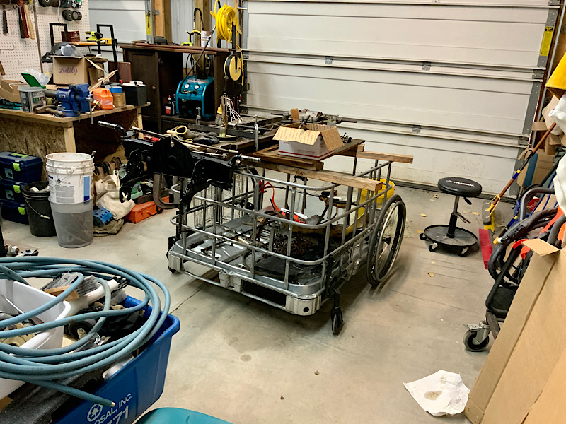 A Rat Rod Wheelbarrow Bucket T Tractor/Kart for my Grandson - Page 5 88268710