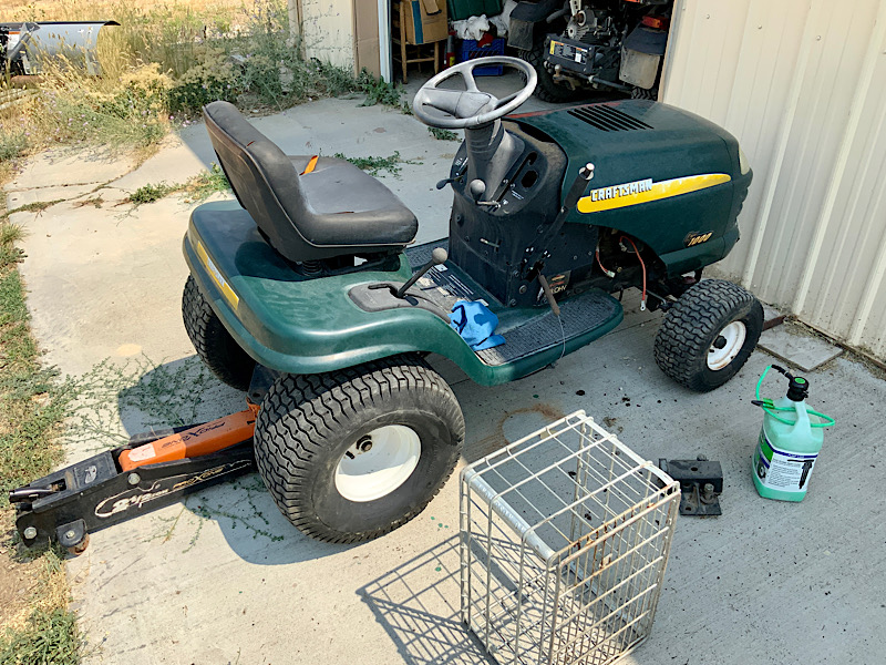 A Rat Rod Wheelbarrow Bucket T Tractor/Kart for my Grandson 99472110