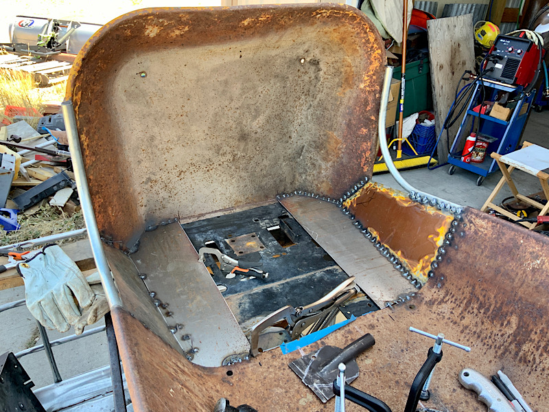 A Rat Rod Wheelbarrow Bucket T Tractor/Kart for my Grandson - Page 4 A11fe610