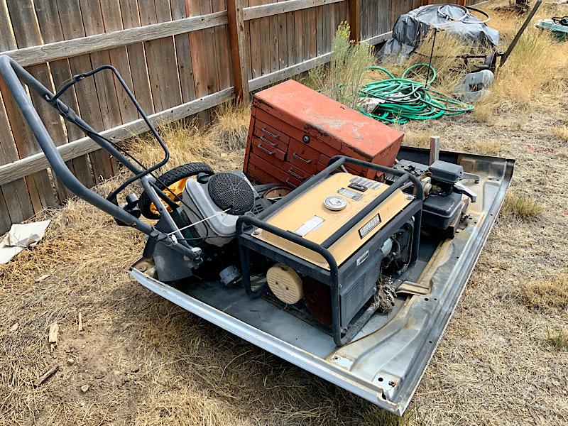 A Rat Rod Wheelbarrow Bucket T Tractor/Kart for my Grandson - Page 2 B2177d10