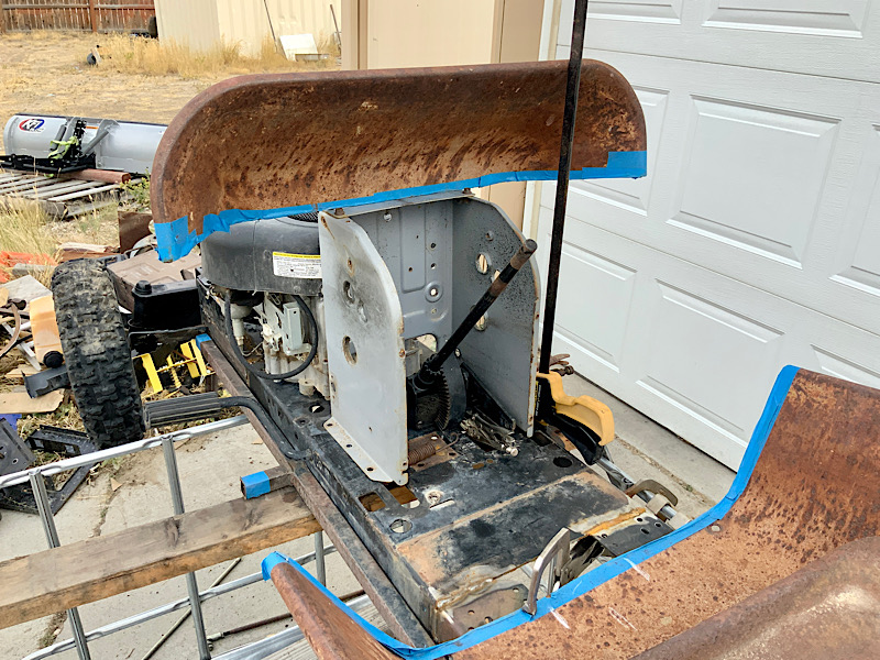 A Rat Rod Wheelbarrow Bucket T Tractor/Kart for my Grandson - Page 4 B6f6ab10