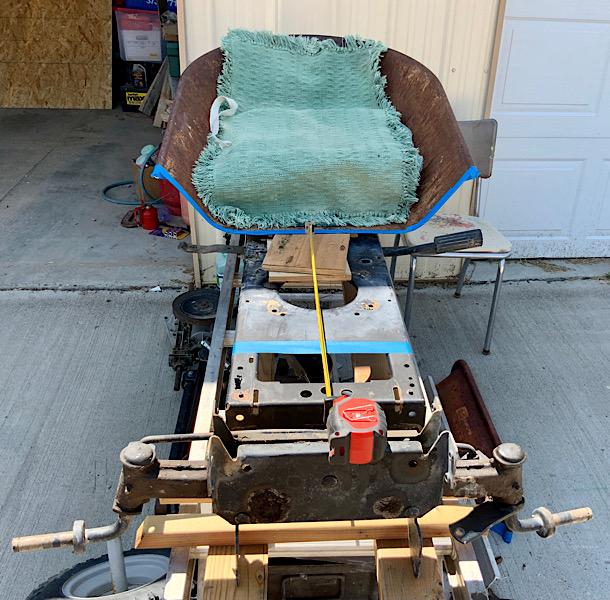 A Rat Rod Wheelbarrow Bucket T Tractor/Kart for my Grandson C3fadf10