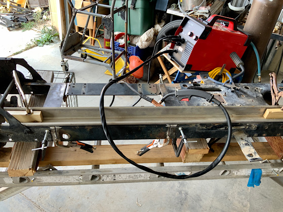 A Rat Rod Wheelbarrow Bucket T Tractor/Kart for my Grandson - Page 3 D2744710