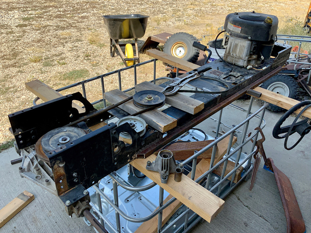 A Rat Rod Wheelbarrow Bucket T Tractor/Kart for my Grandson - Page 3 D32fbe10
