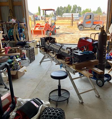 A Rat Rod Wheelbarrow Bucket T Tractor/Kart for my Grandson - Page 3 De397910