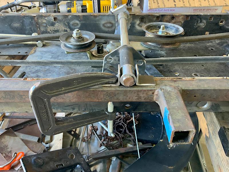 A Rat Rod Wheelbarrow Bucket T Tractor/Kart for my Grandson - Page 5 Ed830f10