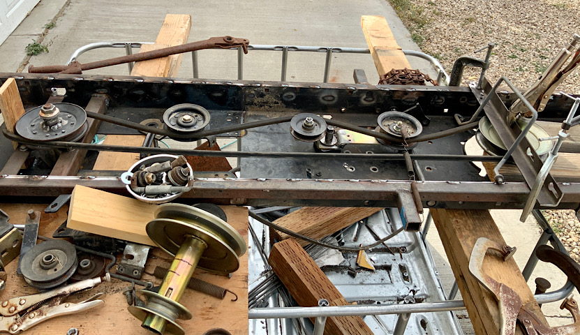 A Rat Rod Wheelbarrow Bucket T Tractor/Kart for my Grandson - Page 5 F7e20510