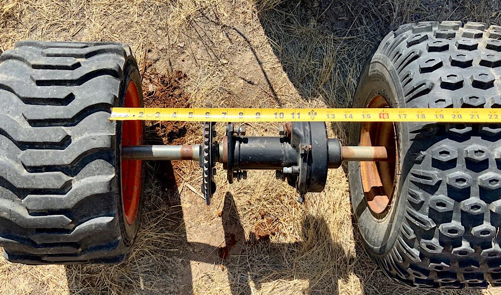 Mystery axle, help identifying it needed please. F9810310