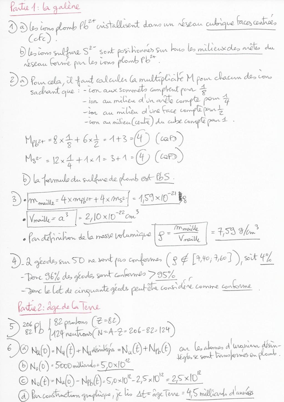 Thème Matière / Activité 4 : Typebac de révision  2020-357