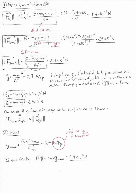 Corrigé des exercices de révision A110
