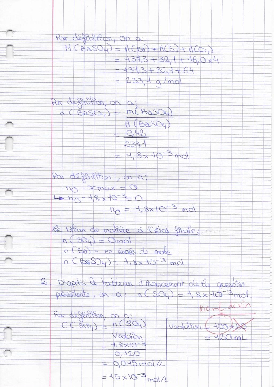 Corrigé du DM de chimie Docfil18