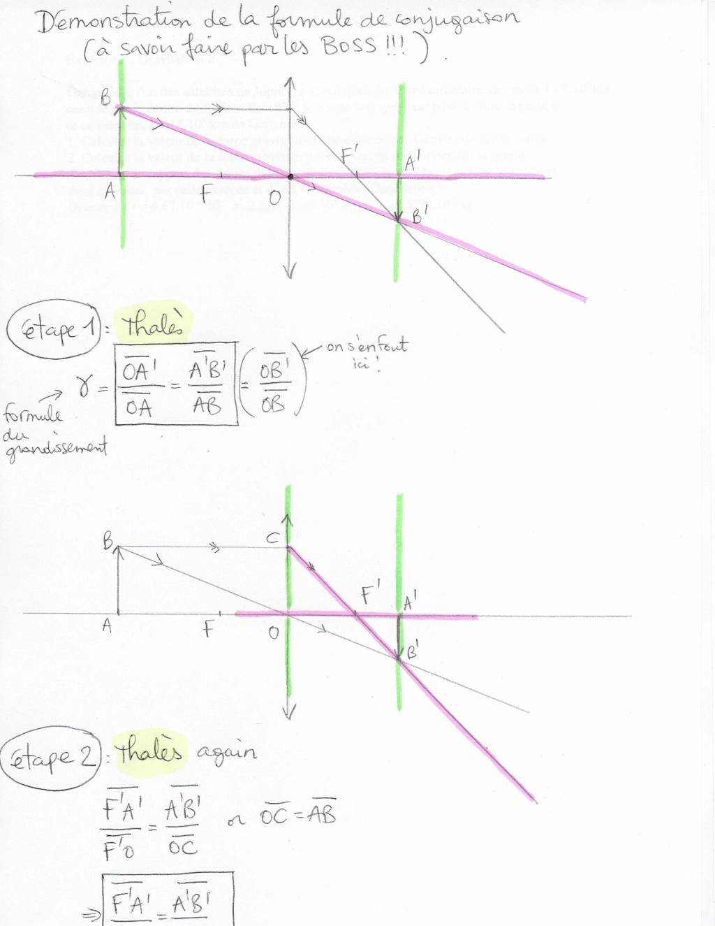 Démonstration: Formule de conjugaison Dzomo110