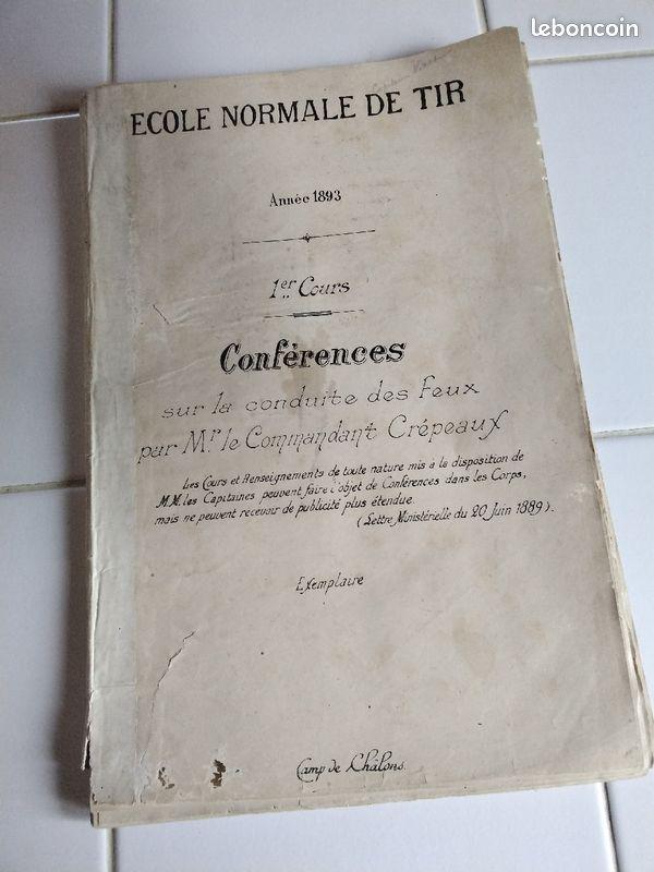 conférence sur la conduite des feux  1893 Confzo10