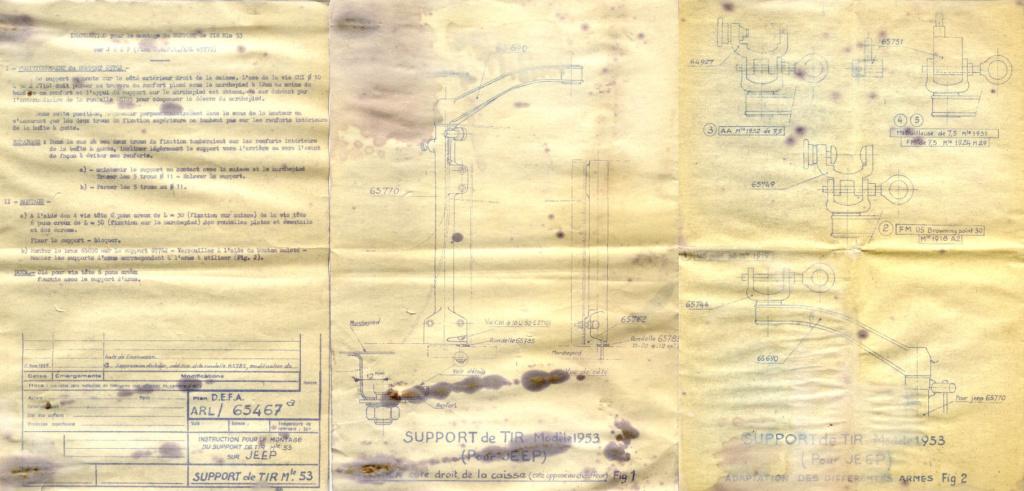 Armement de bord de la VLR DELAHAYE (affut) Suppor12