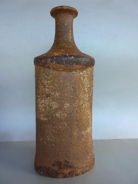 Perhaps Denmark rough structured bottle vase P1130114