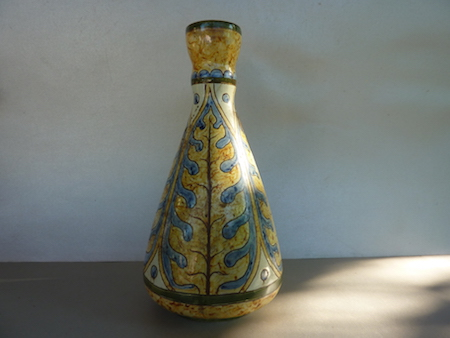 Arts and Crafts ceramic vase... CM mark dated 1895 - Carlo manzoni P1130210