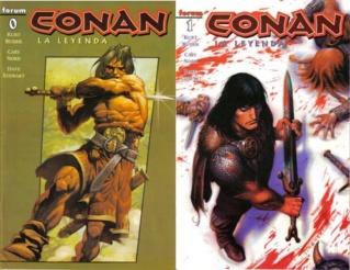 Comics Conan Leyend17