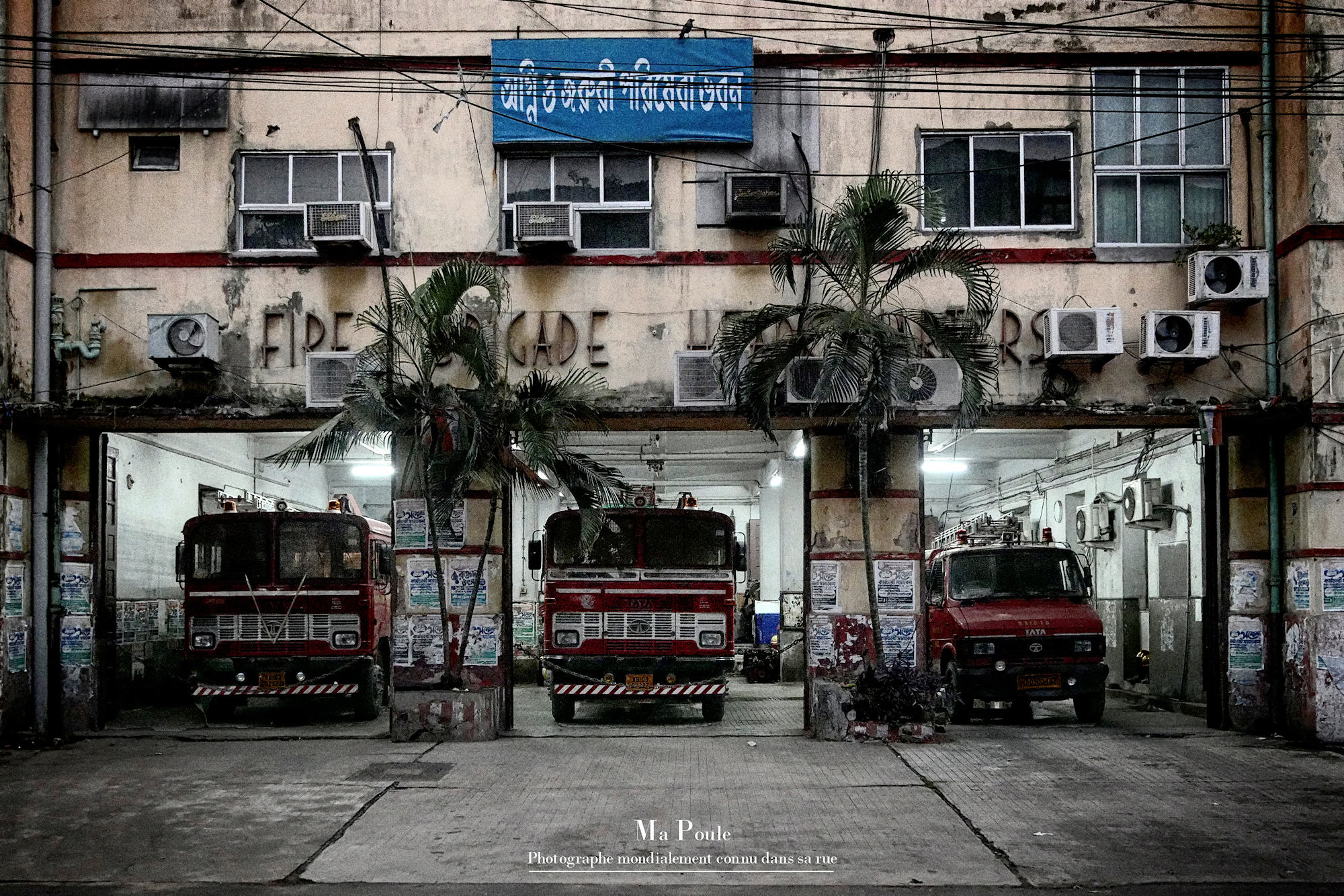 Fire brigade of Calcutta  P1040210